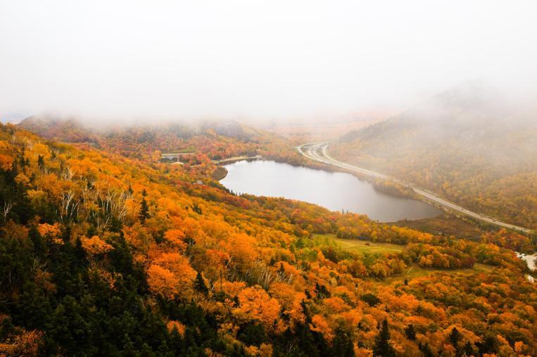 White mountain, NH